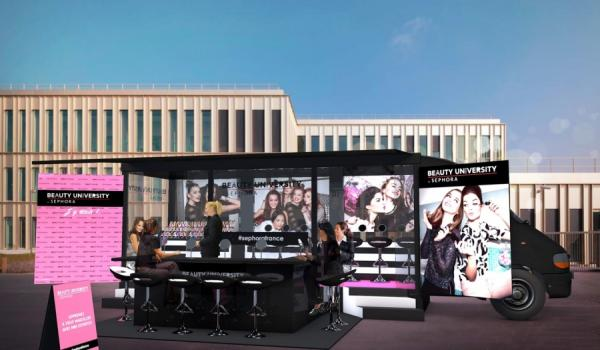 BEAUTY UNIVERSITY TRUCK BY SEPHORA