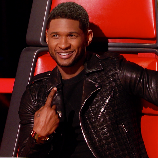 USHER THE VOICE