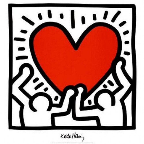 Keith heart Harring