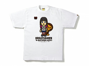 LIMITED EDITION T-SHIRT : BAPE X KREAYSHAWN