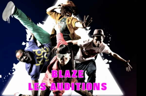 BLAZE LES AUDITIONS FEMME PARIS 2012