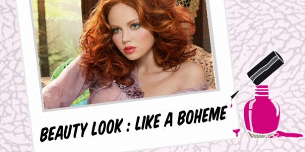 BEAUTY LOOK : LIKE A BOHÈME