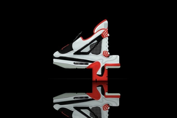 DÉTOURNEMENT GRAPHIQUE : AIR JORDAN RETRO BY WILL C. SMITH