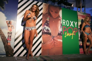 MIAMI FASHION WEEK REPORT : ROXY POP SURF