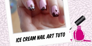 BEAUTY : ICE CREAM NAIL ART TUTORIAL