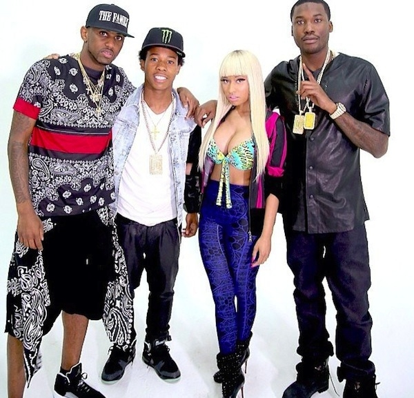 MEEK MILL - I BE ON THAT FT. NICKI MINAJ, FABOLOUS & FRENCH MONTANA