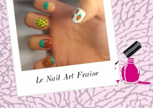 BEAUTY : LE TUTORIEL NAIL ART FRAISE