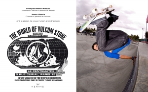 EVENT SKATE : THE WORLD OF VOLCOM STONE