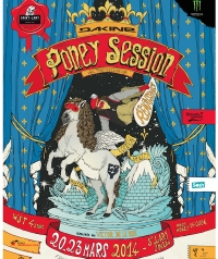 BOARDCULTURE : PONEY SESSION 2014